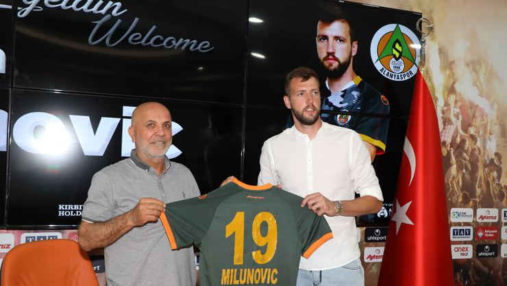 Alanyaspor, Nemanja Milunovic'i transfer etti
