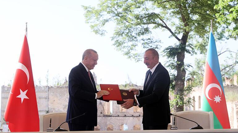 Türkiye ve Azerbaycan'dan anlaşma! Cumhurbaşkanı Erdoğan ve Aliyev'den açıklamalar