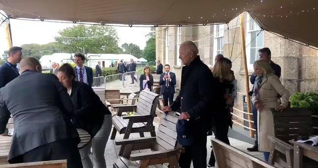 ABD Başkanı Joe Biden BBC muhabirlerini masadan kovdu