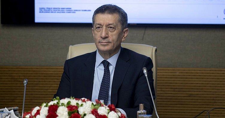 Milli Eğitim Bakanı Ziya Selçuk yüz yüze eğitim için hedefi açıkladı!