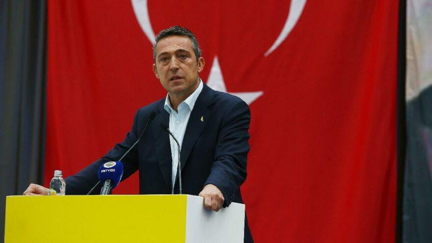 Fenerbahçe Başkanı Ali Koç yıldız golcüyle anlaştı