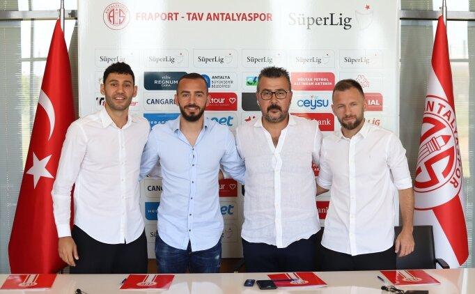 Antalyaspor, 3 futbolcuyla sözleşme imzaladı
