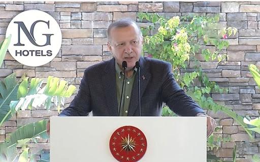 Erdoğan geceliği 7 bin TL olan oteli açtı! Bu otelde Türkler kalamaz