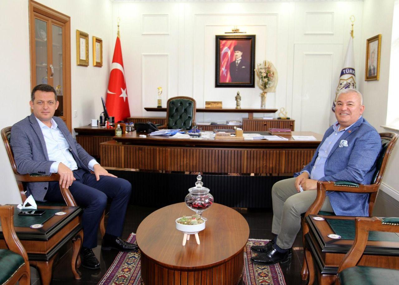 ALTSO Başkanı Şahin, Kaymakam Ürkmezer'e esnafın taleplerini iletti