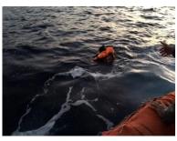 Antalya da göçmen faciası
