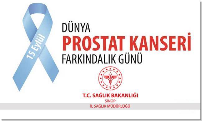 15 Eylül Dünya Prostat Kanseri Farkındalık Günü; Her yıl 1.4 milyon erkeğe prostat kanseri tanısı konuyor
