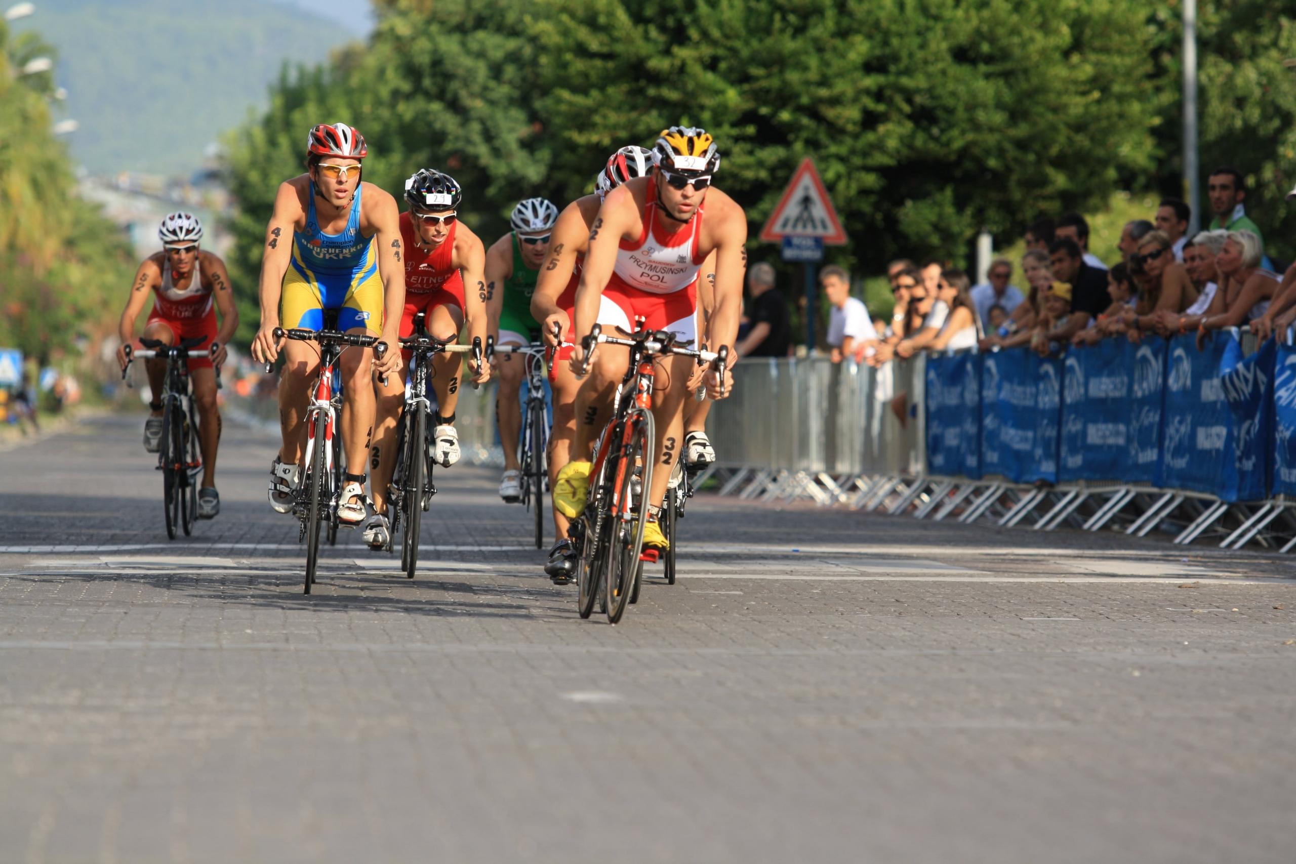 30.Triatlon yarışları için 41 ülkeden bin sporcu Alanya'da buluşuyor