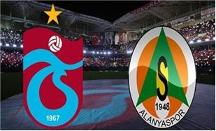 Alanyaspor bu akşam Trabzonspor'a konuk oluyor