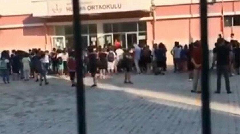 Antalya'daki okulda yaşanan skandal sosyal medyaya yansıdı