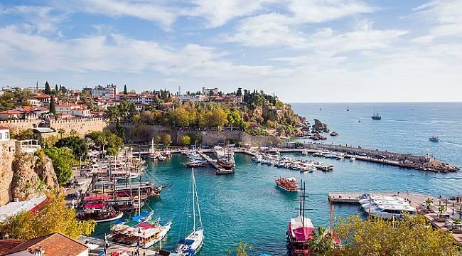 Antalya'ya eylül ayın da 1 milyon turist geldi