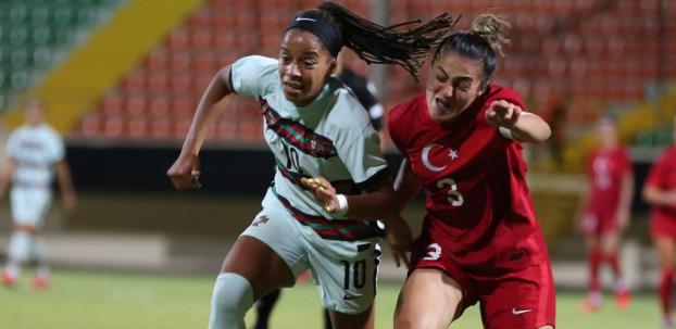 Kadın A Milli Takımı, Alanya'da oynanan maçta Portekiz ile 1-1 berabere kaldı