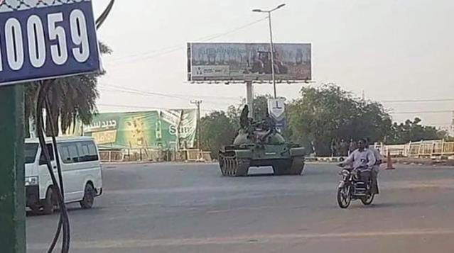 Devlet televizyonu duyurdu; Sudan'da bir grup asker darbe girişiminde bulundu