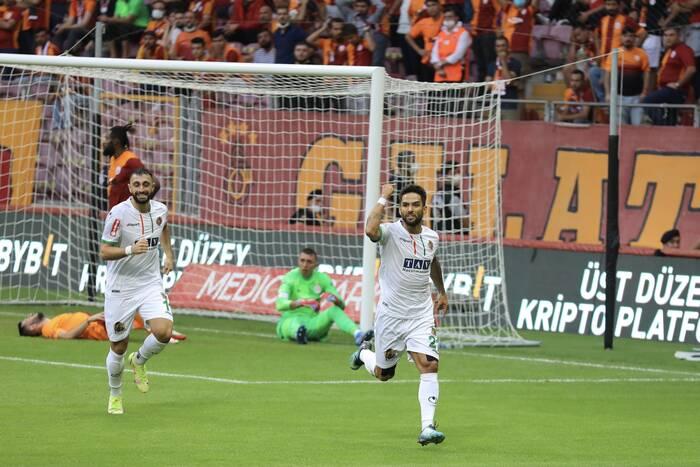 Aytemiz Alanyaspor Galatasaray'ı affetmedi 0-1