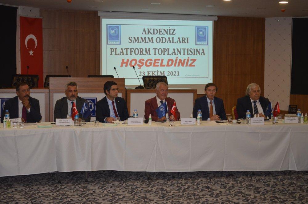Alanya'da 'Akdeniz Serbest Muhasebeci ve Mali Müşavirler Odaları Platform Toplantısı' gerçekleştirildi