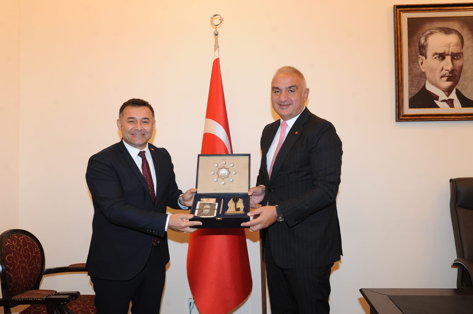 Başkan Yücel'in Yoğun Ankara Mesaisi
