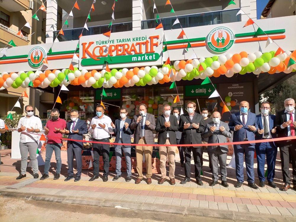Alanya'nın kooperatif marketi açıldı