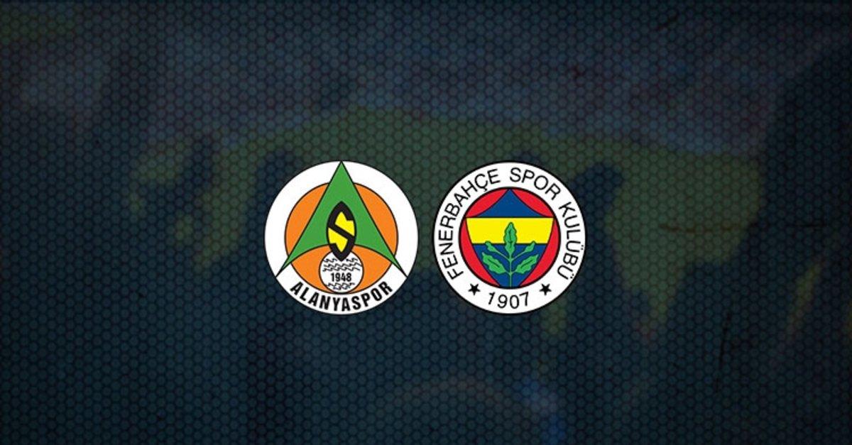 Alanyaspor yarın akşam saat 19.00'da Fenerbahçe'ye konuk oluyor