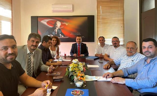 Antalya Gazeteciler Cemiyetinde görev dağılımı