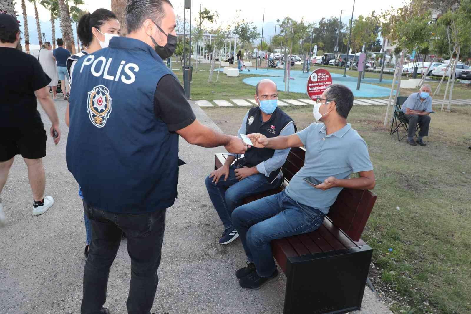 """Antalya'da """"Türkiye Güven Huzur Uygulaması"""""""