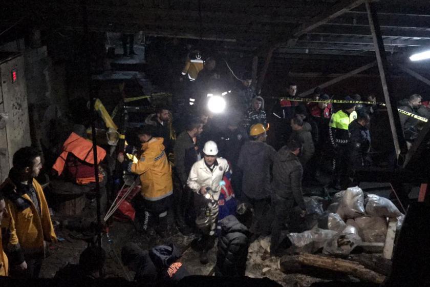 Zonguldak'ta maden ocağında göçük meydana geldi; 3 işçiden birinin cansız bedenine ulaşıldı